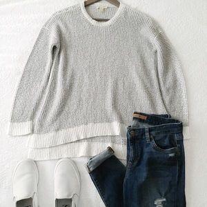 Eileen Fischer Peruvian Organic Boucle Sweater